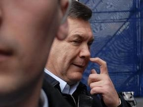 Янукович сообщил о планах ПР относительно Конституции