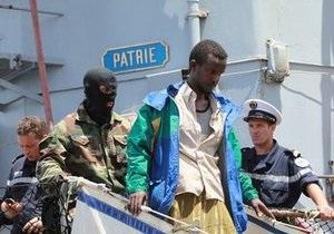 Французский фрегат потопил три пиратских судна