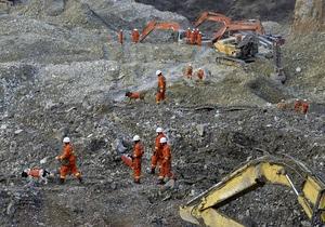 В Тибете спустя два дня после оползня извлекли тела 36 из 83 золотодобытчиков