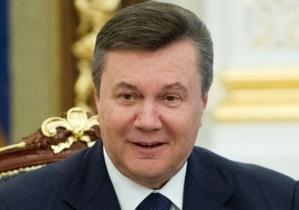 Янукович обратится к украинцам по случаю начала Евро-2012