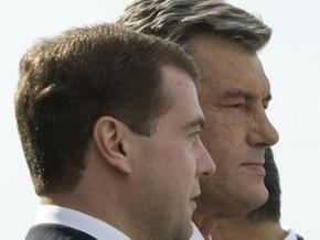Ющенко выразил соболезнования Медведеву