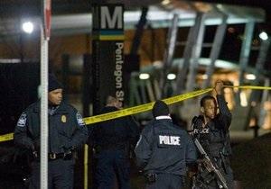 Полиция: Устроивший стрельбу у Пентагона психически болен и не связан с терроризмом