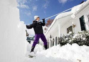 В США растет число жертв сильного снегопада