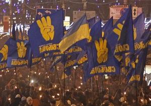 В Енакиево избили главу местной ячейки Свободы