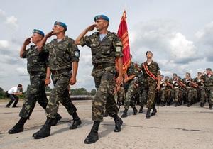 Украина увеличит миротворческий контингент в двух африканских странах