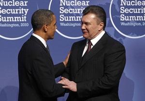 Обама похвалил Украину перед саммитом в Сеуле