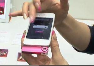 Японцы сделали из iPhone первый  смелфон , передающий запахи на расстоянии