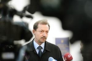 Начальник пресс-службы МВД Владимир Полищук ушел в отставку