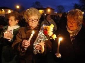 В Северной Ирландии прошли  марши молчания
