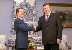 До конца 2010 года у Януковича и Медведева запланированы две встречи