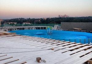На крыше крупнейшего киевского ТРЦ появится пляж с бассейнами