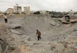 Более двадцати палестинцев пострадали при взрыве в секторе Газа