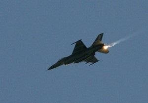 У побережья Италии упал истребитель F-16