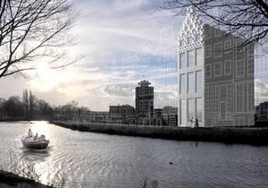 В Амстердаме на 3D-принтере распечатают целый дом