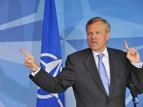 В Брюсселе проходит первое после августовского конфликта заседание РФ-НАТО