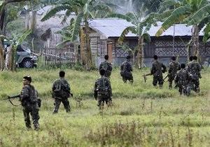 Полиция Филиппин освободила часть заложников