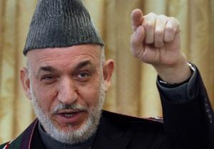 Карзай снова обвинил США в сепаратных переговорах с талибами