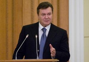 Янукович констатировал, что позитивные тенденции в экономике Украины становятся все более стойкими