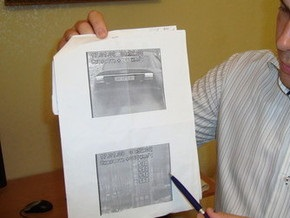 Харьковские адвокаты выиграли дело против Визира: На фото заправка превысила скорость