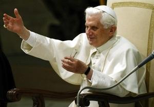 Бенедикт XVI проводит рождественскую мессу в Ватикане (обновлено)