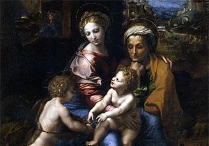 В итальянском музее найден неизвестный набросок Рафаэля