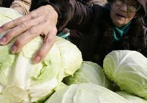 За год овощи и фрукты в Украине подорожали на 43%