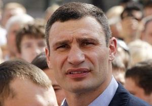 Кличко прокомментировал фото, где он запечатлен с двумя криминальными авторитетами