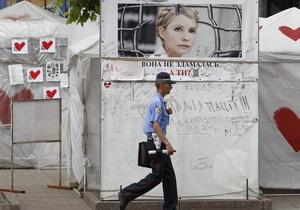 За период заключения Тимошенко посетили 27 иностранцев