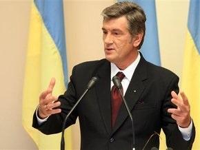 Ющенко ветировал закон о минимизации влияния финкризиса на промышленность