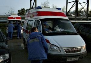 Под Тамбовом перевернулся пассажирский автобус