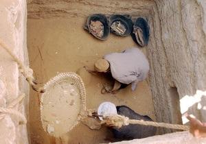 В Египте при проведении нелегальных раскопок погибли десять человек