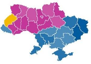 ПР победила в 12 областях, Батьківщина - в 14