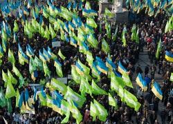 Радио Свобода: В митинге Украина против Януковича приняли участие семь тысяч человек