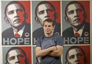 Автора самого популярного портрета Обамы осудили в США за подлог