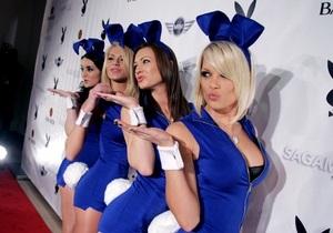 Playboy разработал для Индии скромный костюм кролика
