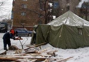 МЧС откроет пункты обогрева в парковых зонах всех облцентров Украины