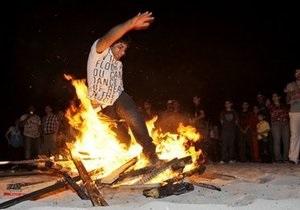 Праздник огня в Иране: более 300 пострадавших