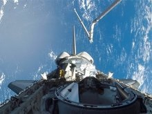 Астронавты Atlantis сегодня совершат выход в космос