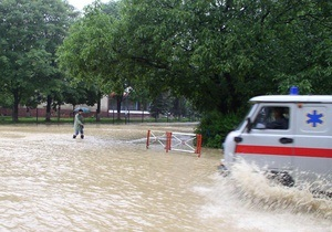 Наводнение в Украине может охватить новые области