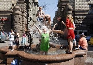 Синоптики прогнозируют в Украине жаркое лето