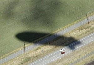 На юго-западе Германии упал и загорелся дирижабль: пилот погиб