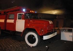 В Херсонской области горел вагон с серой