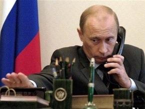 Путин пожаловался Евросоюзу на Украину