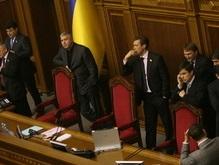 Перипетии в парламенте: депутаты не могут ни о чем договориться