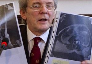 Минздрав отрицает информацию о  грыже межпозвоночного диска  у Тимошенко