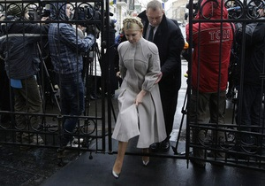 Тимошенко прибыла в ГПУ: Они хотят, чтобы до выборов вся оппозиция сидела в тюрьмах