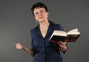 Оксана Забужко: Табачник - не человек, а сплошной фейк
