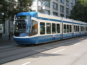 Цюрих подарил Виннице трамваи
