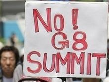 Саммит G8 в Японии начинается на фоне манифестаций и землетрясений