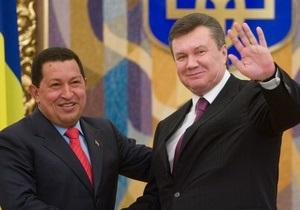 Уго Чавес - смерть Уго Чавеса - Янукович - Смерть Уго Чавеса: Янукович выразил свои соболезнования